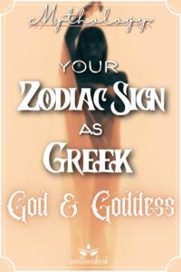 Greek Mythology: Your Zodiac Sign As Greek God Or Goddess